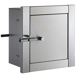 Bobrick Recessed Heavy Duty Specimen Pass-Through Cabinet