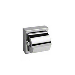 Bobrick Toilet Tissue Dispenser With Hood For Single Roll