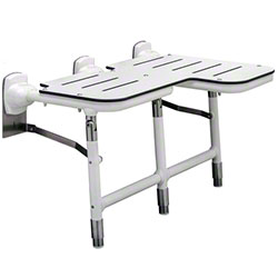 Bobrick Bariatric Reversible Folding Shower Seat w/Legs