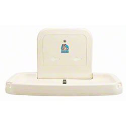 Koala Kare Horizontal Baby Changing Station - Gray