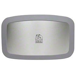 Koala Kare Horizontal Baby Changing Station w/Stainless Steel Veneer - Grey