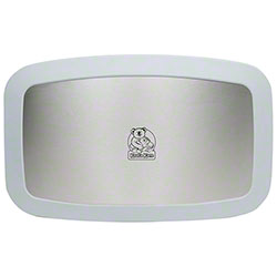 Koala Kare Horizontal Baby Changing Station w/Stainless Steel Veneer - White Granite
