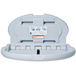 Koala Kare Oval Wall Mounted Baby Changing Station - Grey