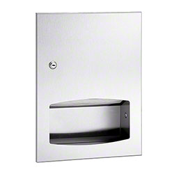 Bradley® Bradex® Semi-Recessed Towel Dispenser