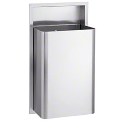 Bradley® Bradex® Recessed Waste Receptacle - 18 Gal.