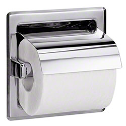 Bradley® 5103 Recessed Single Roll Toilet Tissue Dispenser