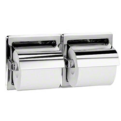 Bradley® 5123 Recessed Dual Roll Toilet Tissue Dispenser