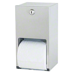 Bradley® 5402 Dual Roll Toilet Tissue Dispenser