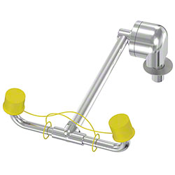 Bradley® Deck-Mount Swing-Down Eyewash Unit