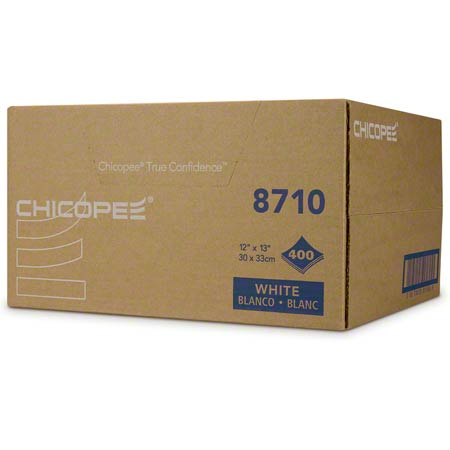 """Chicopee® Veraclean® - 12' x 13.5"""", White, Smooth"""