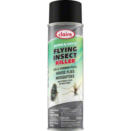 Claire® Down & Out II Flying Insect Killer - 15 oz net wt.