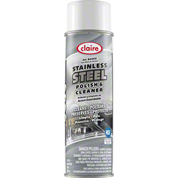 Claire® Stainless Steel Polish & Cleaner - 15 oz. Net Wt.