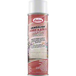 Claire® Vandalism Mark & Stain Remover - 18 oz. Net Wt.