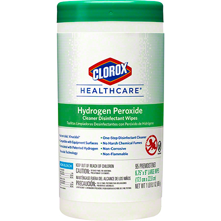 Clorox Healthcare® Hydrogen Peroxide Cleaner Disinfectant Wipe - 95 ct.