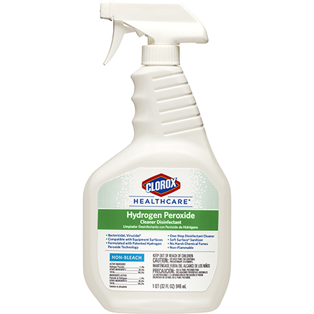 Clorox Healthcare® Hydrogen Peroxide Cleaner Disinfectant Spray - 32 oz.