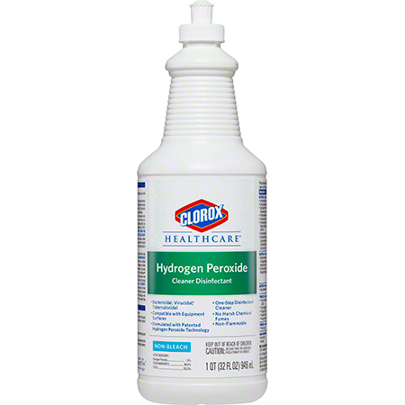 Clorox Healthcare® Hydrogen Peroxide Cleaner Disinfectant - 32 oz.