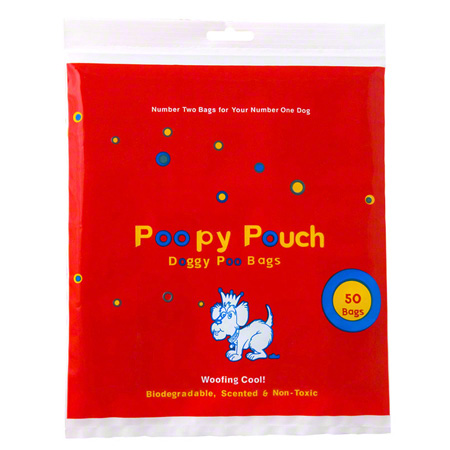 Crown Products Poopy Pouch Doggy Poo Disposal Bags