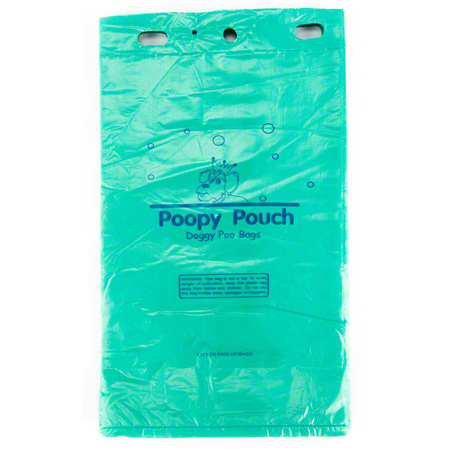 Crown Products Poopy Pouch Pet Waste Header Bags