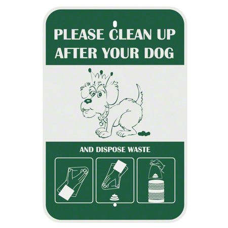 """Crown Products Poopy Pouch """"Please Clean Up After Your Dog"""""""