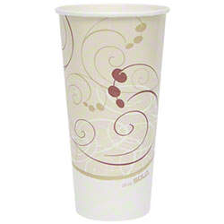 Solo® Symphony® Double Poly Paper Cold Cup - 24 oz.