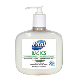 Dial® Basics Hypoallergenic Liquid Soap - 16 oz.