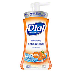 Dial Complete® Foaming Antibacterial Hand Wash - 7.5 oz. Pump, Silk & Seaberry