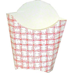 Dixie® Glued French Fry Carton - Large