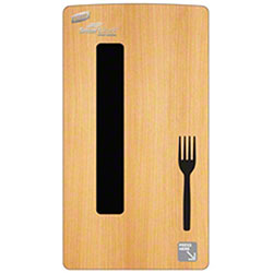 Dixie® SmartStock® Mini Dispenser Skin For Fork - Maple