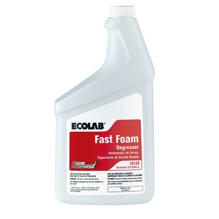 Ecolab® Grease Express Fast Foam Degreaser - 32 oz.