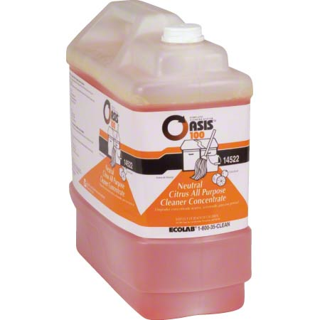 Ecolab® Oasis 100 All Purpose Cleaner - 2.5 Gal.