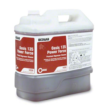 Ecolab® Oasis 135 Power Force Premium Degreaser - 2.5 Gal.