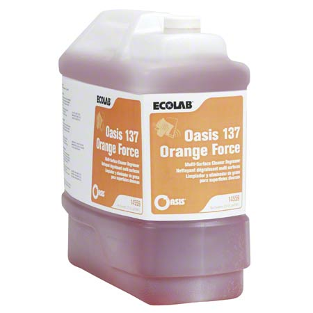 Ecolab® Oasis 137 Degreaser - 2.5 Gal.