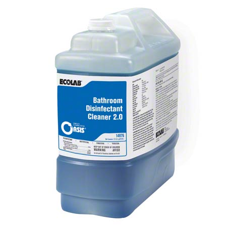 Ecolab® Oasis Bathroom Disinfectant Cleaner 2.0 - 2.5 Gal.