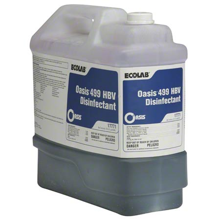 Ecolab® Oasis 499 HBV Disinfectant - 2.5 Gal.