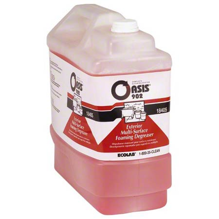Ecolab® Oasis® 902 Exterior Foaming Degreaser - 2.5 Gal.