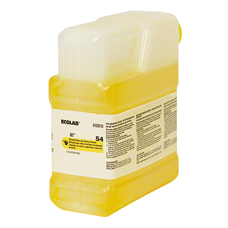 Ecolab® QC™ 54 Peroxide Glass & Surface Cleaner - 1.3 L
