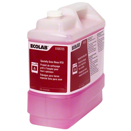 Ecolab® Specialty Oven Rinse RTU - 2.5 Gal.