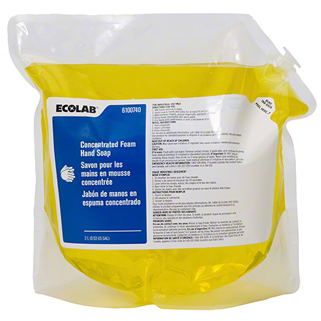 Ecolab® Concentrated Foam Hand Soap - 2 L