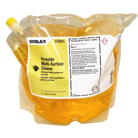 Ecolab® Peroxide Multi-Surface Cleaner - 2 L