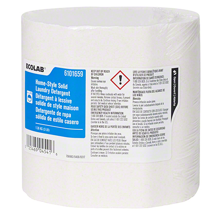 Ecolab® Home-Style Solid Laundry Detergent - 3 lb.