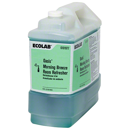 Ecolab® Oasis Morning Breeze Room Refresher - 2.5 Gal.