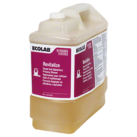 Ecolab® Revitalize Carpet and Upholstery Prespray Cleaner - 2.5 Gal.