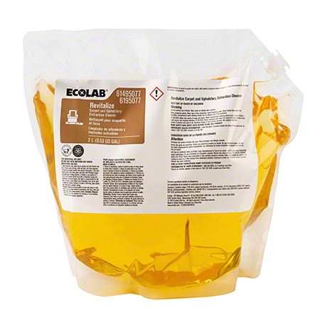 Ecolab® Revitalize Carpet & Upholstery Extraction Cleaner - 2 L
