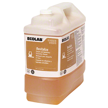 Ecolab® Revitalize Carpet & Upholstery Extraction Cleaner - 2.5 Gal.