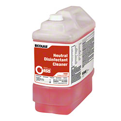 Ecolab® Oasis Neutral Disinfectant Cleaner - 2.5 Gal.