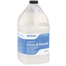 Ecolab® Clean & Smooth™ Lotion Skin Cleanser -Gal.