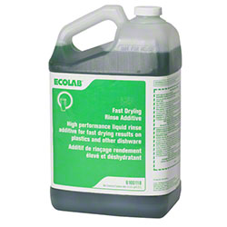 Ecolab® Fast Drying Rinse Additive - 5 Qt.