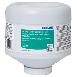 Ecolab® Low Temp Laundry Solid Clearly Soft Softener