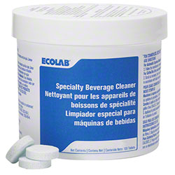 Ecolab® Specialty Beverage Cleaner - 100 Tabs Pk