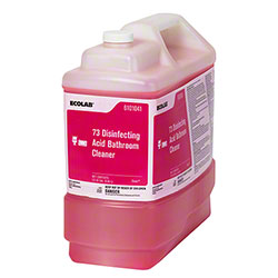 Ecolab® 73 Disinfecting Acid Bathroom Cleaner - 2.5 Gal.